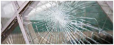 Blackburn Smashed Glass